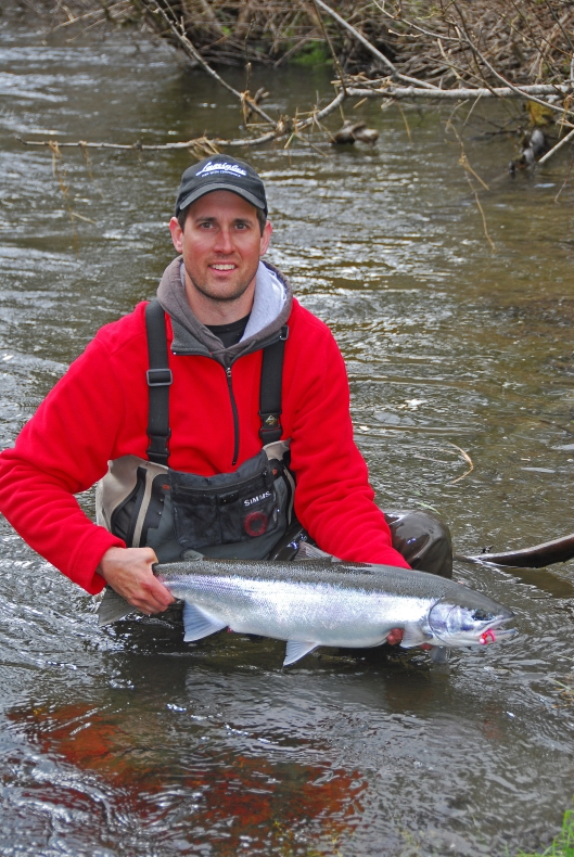 Steelhead caught using SMJ #34