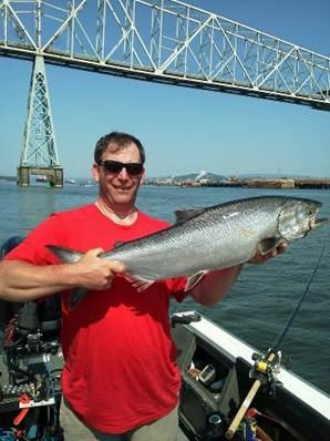 Fall Chinook Salmon Wobbler Fishing