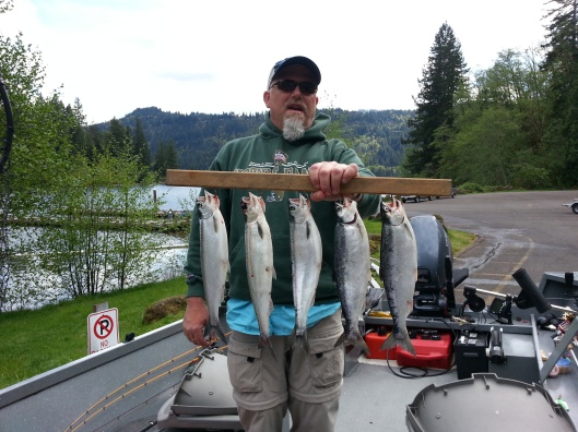 Kokanee Fishing at Merwin
